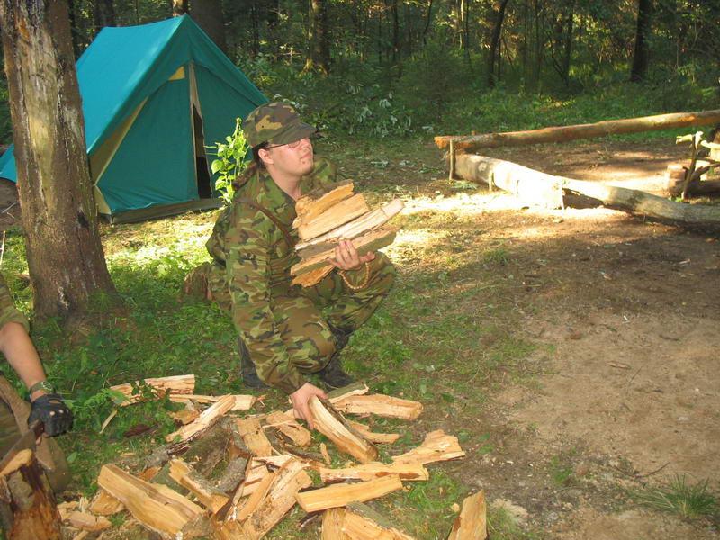 Киркли, дрова и Зеленная Палатка - 2 Судный день