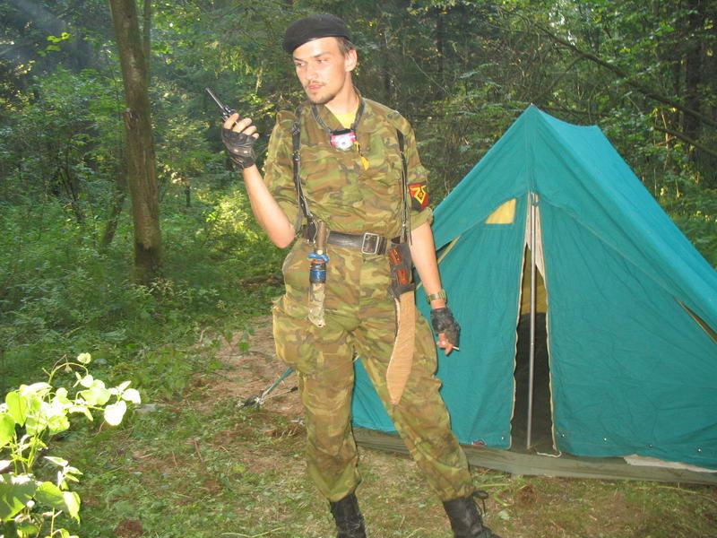 Комендант и Зеленая Палатка...