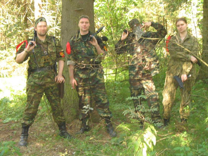 Группа Нач.Штаба перед отправкой за головами искателей артефактов